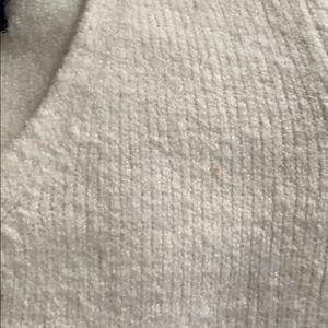 Calvin Klein Jeans Sweaters - Calvin Klein White Sweater - V-neck